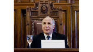 Lorenzetti fue reelegido por sus pares como presidente de la Corte