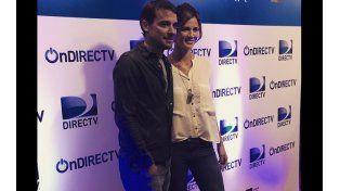 Paula y Pedro le hicieron el aguante a Delfina Chaves en su debut actoral