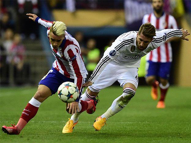 Momento del show: el Madrid y el Aleti, por las semis de la Champions