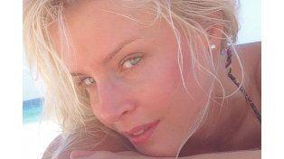 La sueca Larsson derritió a Instagram con una foto muy caliente