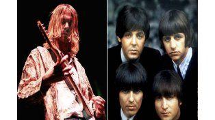 Descubren cover inédito que Kurt Cobain hizo de Los Beatles