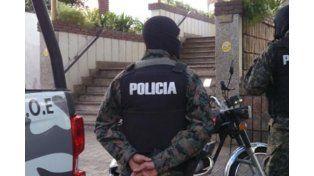 Descabezaron una banda narco tras un amplio operativo en el sur provincial