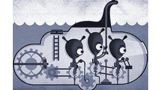 Google se suma a la búsqueda y le rinde homenaje al mítico monstruo del lago Ness