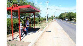Inauguran la pavimentación del acceso a Alto Verde