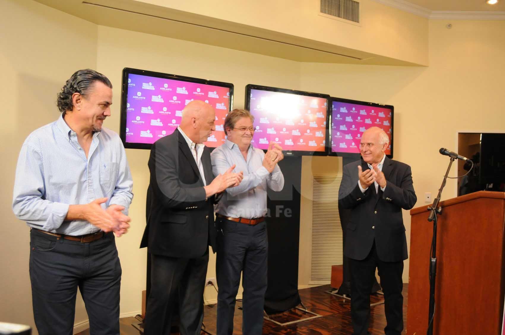 Bonfatti hizo una gran elección en Diputados. Lifschitz espera que eso sea decisivo en las generales / Foto: Manuel Testi - Uno Santa Fe