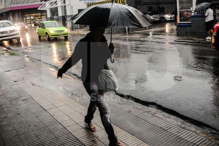 Alerta por tormentas para el norte provincial