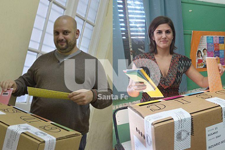 En Rosario, votaron Crivaro y Grisolía del Frente de Izquierda