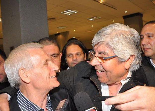 Hugo Moyano no descartó la posibilidad de reunificar a la CGT