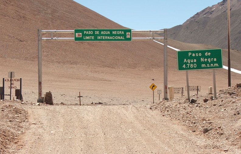 Cambio. La obra del túnel para el paso de Aguas Negras mejorará la comunicación con Chile.