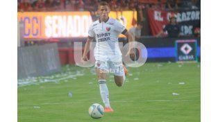 Braian Romero es el goleador de Colón y volverá al equipo luego de sufrir un desgarro en el partido con Olimpo.