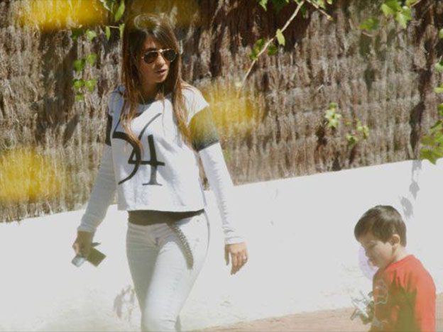 Las fotos más buscadas: Antonella mostró su pancita