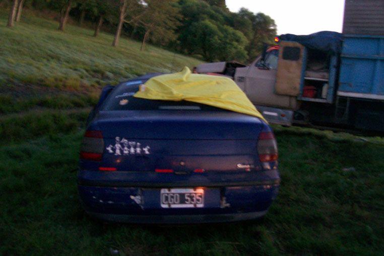 Cinco muertos en un choque frontal en la ruta 34