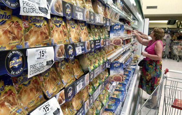 Desaceleración. La inflación en el rubro alimentos fue menor a la del promedio
