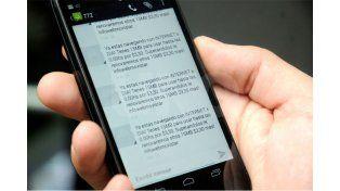 El SMS. Este es el mensaje que le llegó a gran cantidad de usuarios avisándoles del cargo extra en la navegación.