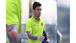 El tatuaje que Messi ocultaba