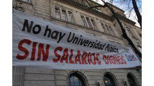 Si la oferta salarial del gobierno es inferior al 35 por ciento, los docentes universitarios volverán al paro