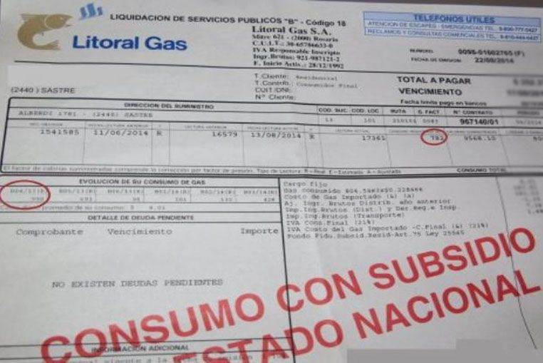 Advierten que está próximo a vencer el subsidio al gas natural