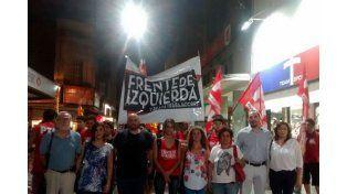 Cambio. Crivaro dijo que el Frente de Izquierda es la alternativa.