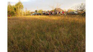 Arroyo Leyes se movilizó para pedir por un cementerio