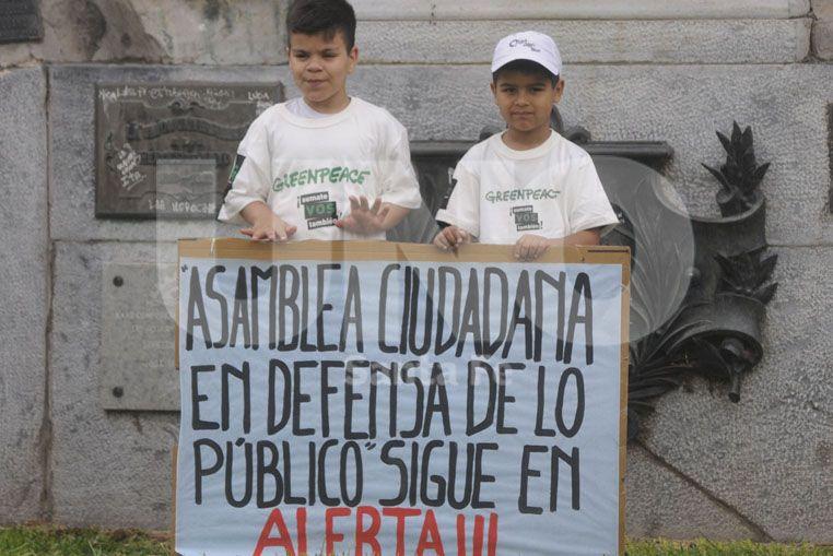 Cocheras en Plaza San Martín: se realizó una nueva manifestación