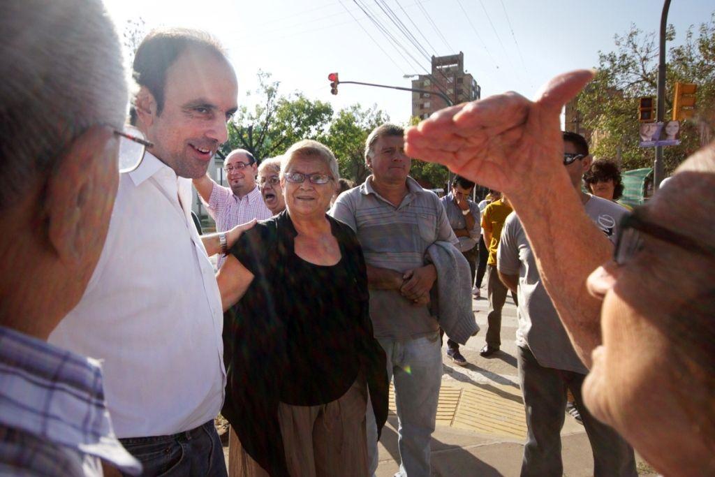 """José Corral: """"La ciudad creció sin planificación y ahora estamos haciendo las obras que eran necesarias"""""""