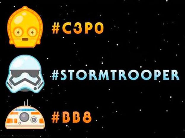 Twitter introduce los emojis de Star Wars