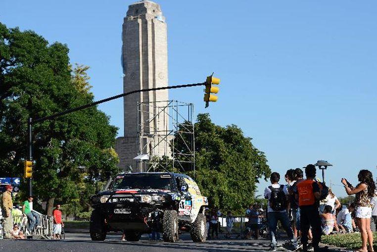Rosario fue confirmada como punto de llegada del Rally Dakar 2016