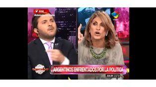 Terrible escándalo en Intratables entre Silvia Fernández Barrio y Brancatelli