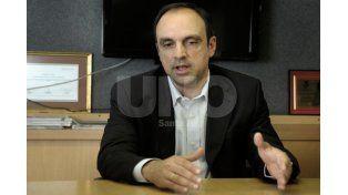 Confiado. El intendente cree que logrará los votos que le den respaldo para buscar la reelección / Foto: Juan Manuel Baialardo - Uno Santa Fe