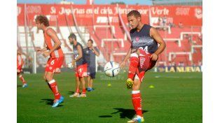 Sebastián Caballero no está confirmado como titular para el lunes / Foto: Juan Manuel Baialardo - Uno Santa Fe