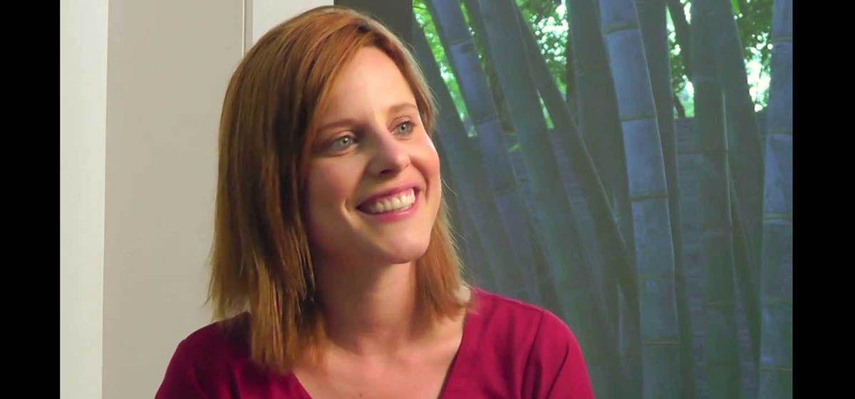 El video de Agustina Kämpfer ensayando para el Bailando 2015