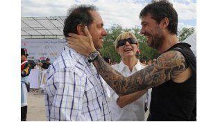 """Scioli sobre Tinelli: """"No hay que mezclar las cosas"""""""