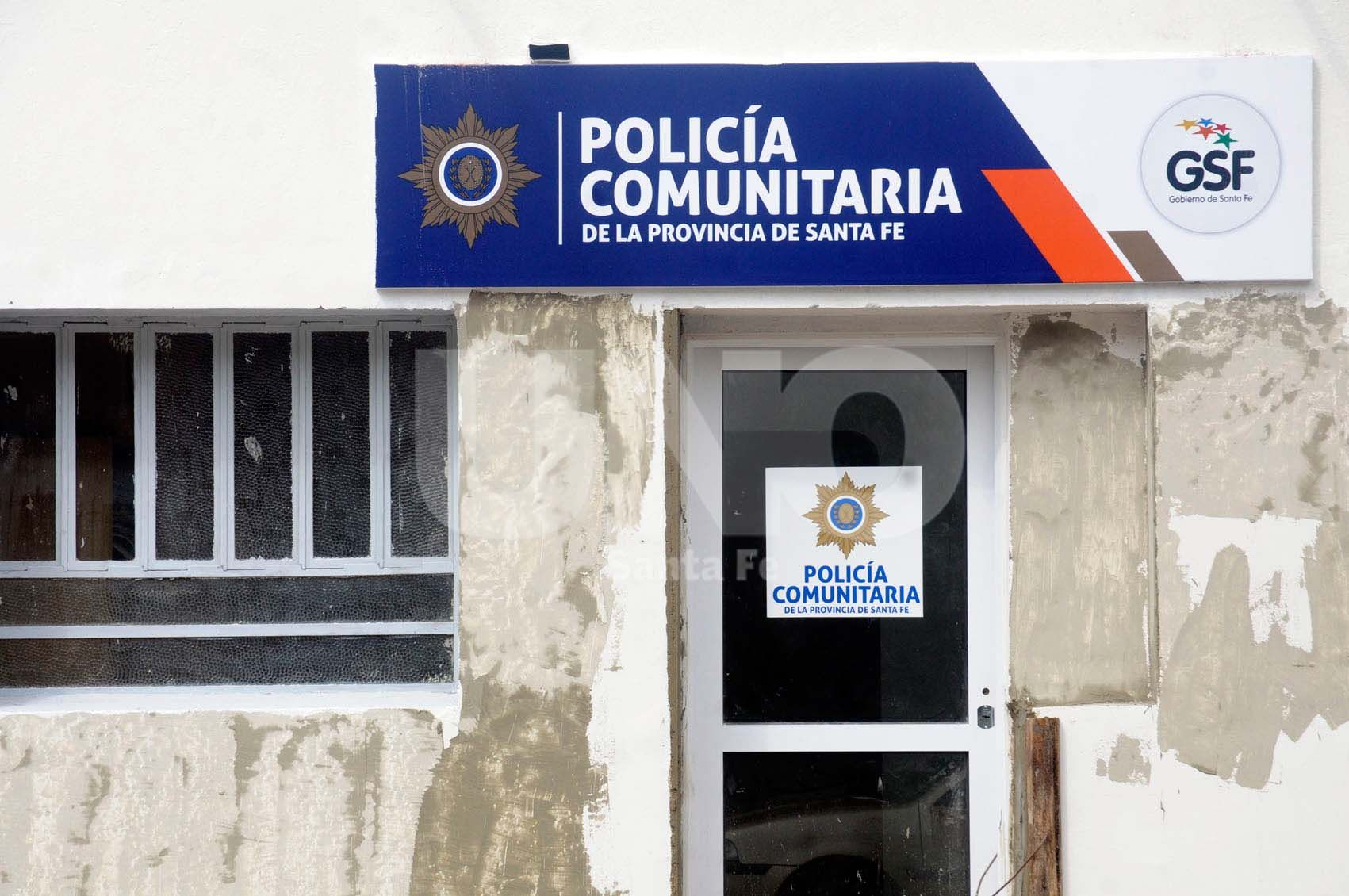 Preparación. Se está terminando de acondicionar la Casa de la Policía Comunitaria en Centenario. Foto: Mauricio Centurión - Uno Santa Fe