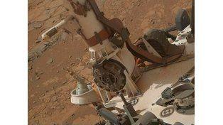 Mástil y cubierta del rover