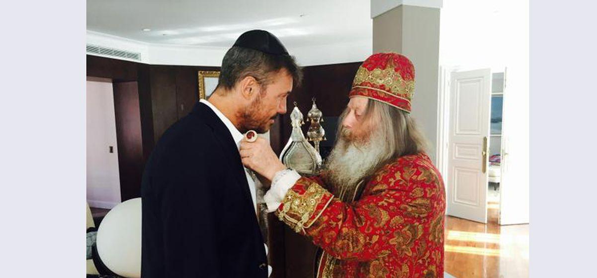 Marcelo Tinelli: Es solo una visita espiritual