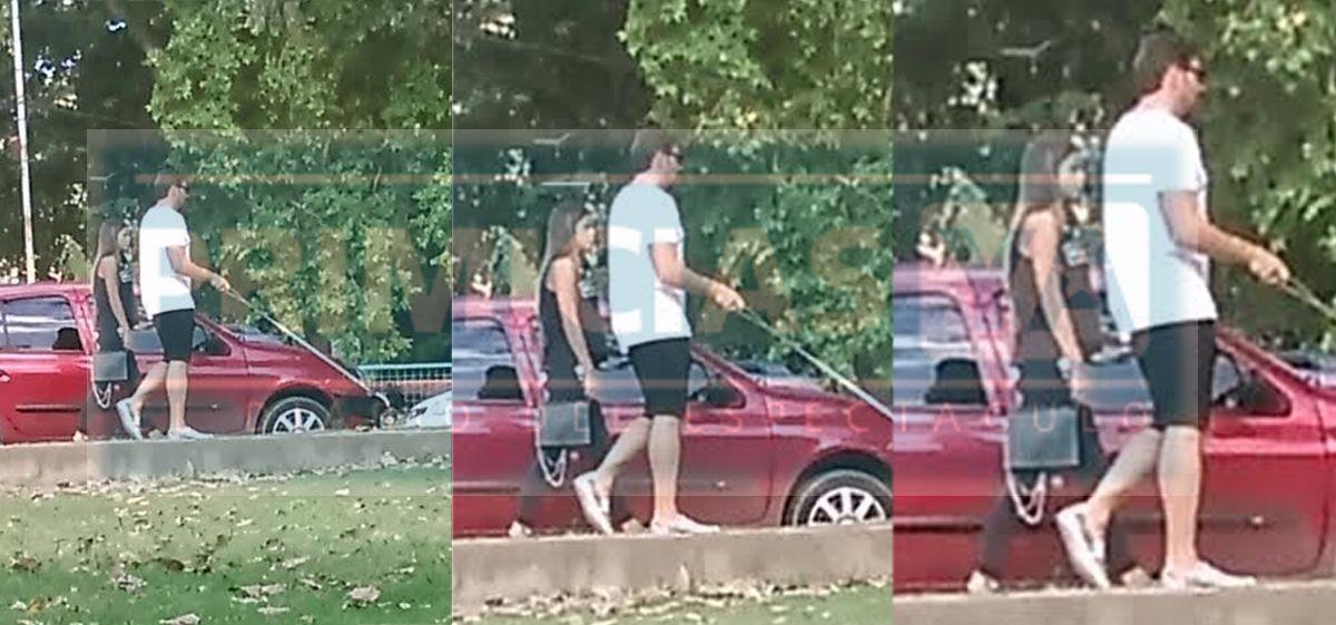Matías Alé se hace cargo: habló de la foto donde se lo ve paseando con una cordobesa