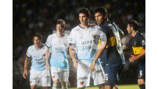 Su última vez. Lucas Alario jugó el 8 de marzo en el Brigadier López ante Boca