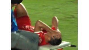 Impresionante lesión: fractura de peroné para Diego Rodríguez