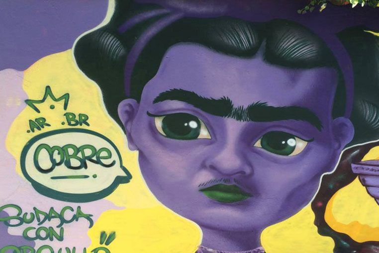 Inspiración. El Chavo del 8 y Frida Kahlo
