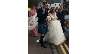 Las fotos del casamiento de Andy Murray