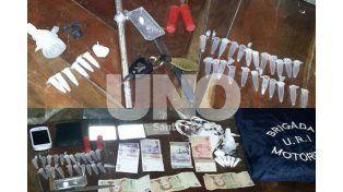 Persecución y arresto de un automovilista que transportaba drogas