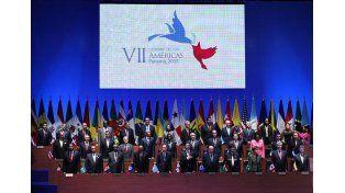 Francisco le pidió a los líderes de las Américas combatir las escandalosas desigualdades