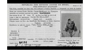 Apareció el documento de Mirtha que confirma su edad
