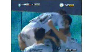 De visitante, Colón cayó 2 a 1 frente a Temperley