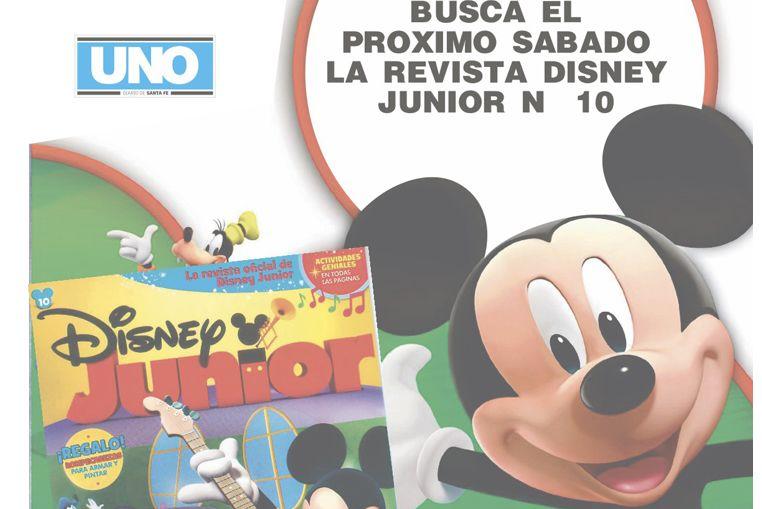 Este sábado no te pierdas la revista Disney Junior