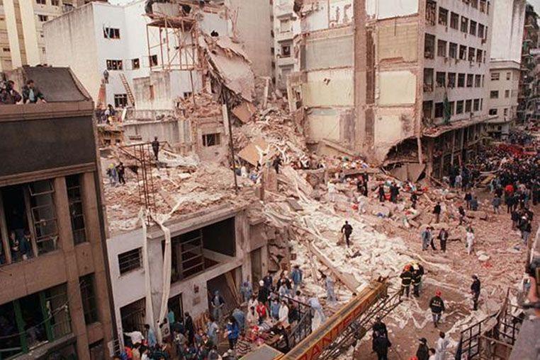 Desclasifican los archivos del atentado a la Embajada de Israel