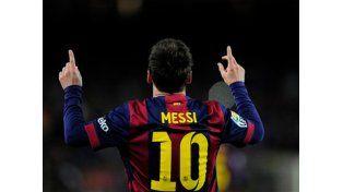 Con un golazo de Messi, Barcelona goleó a Almería y se afianza en la cima