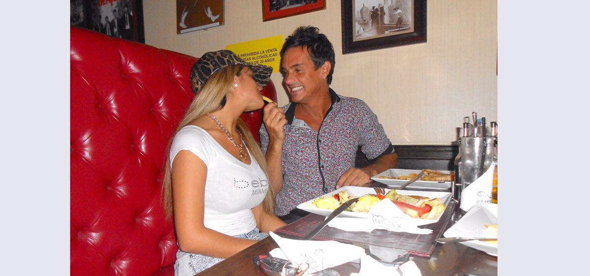 Hernán Caire está de novio con una bailarina de 19 años