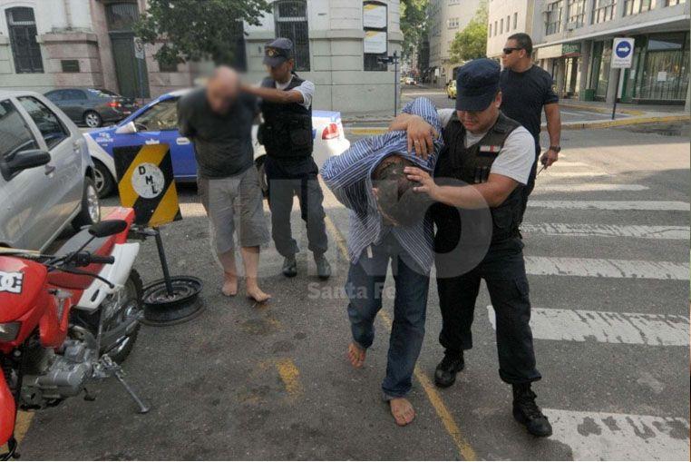 Romano en el momento de su detención en 2013.