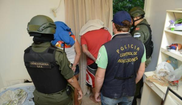Detuvieron a tres personas en un operativo en la ciudad de Vera